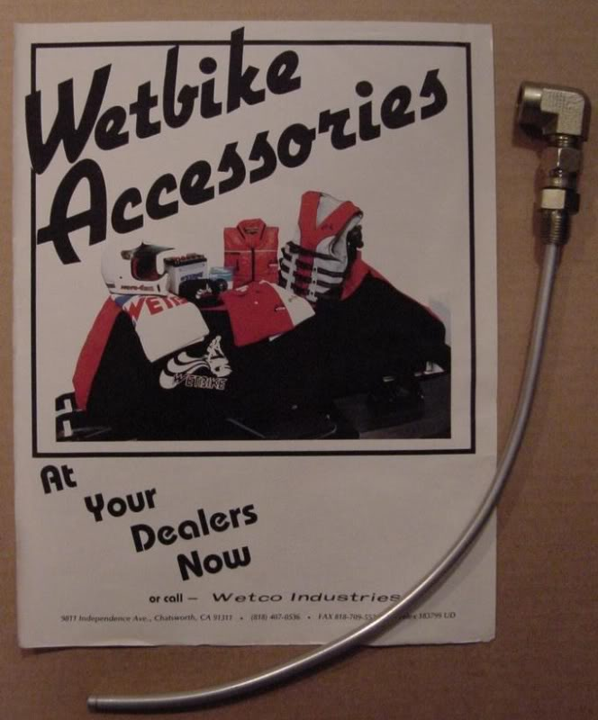 Fuel Supply 78-85 Wetbikes
