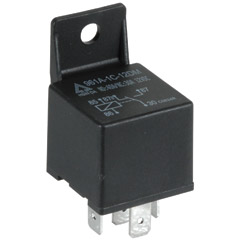 12 VDC Automotive 5-Pin Relay SPDT